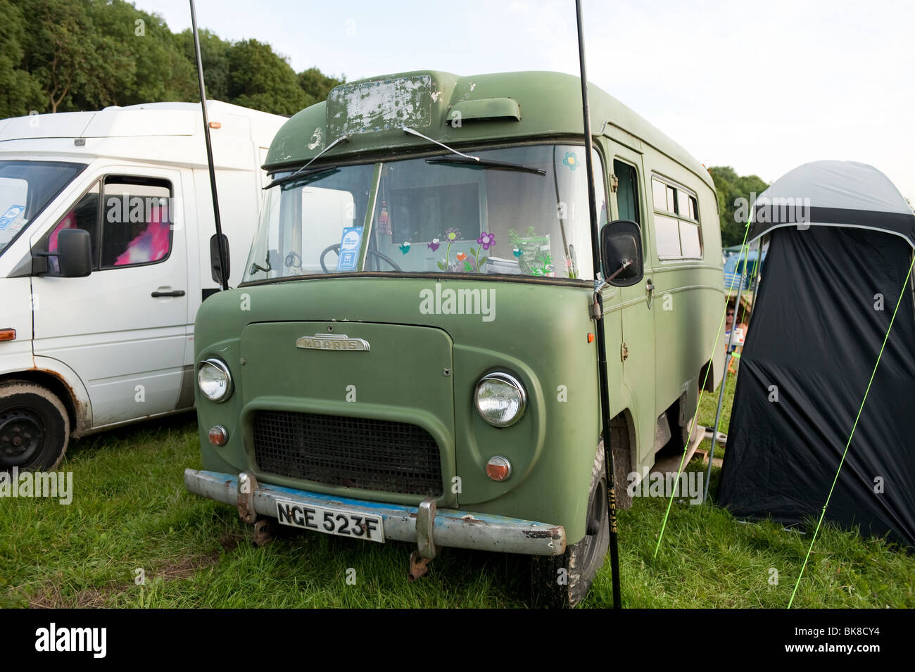 Very Old Morris Camper Van