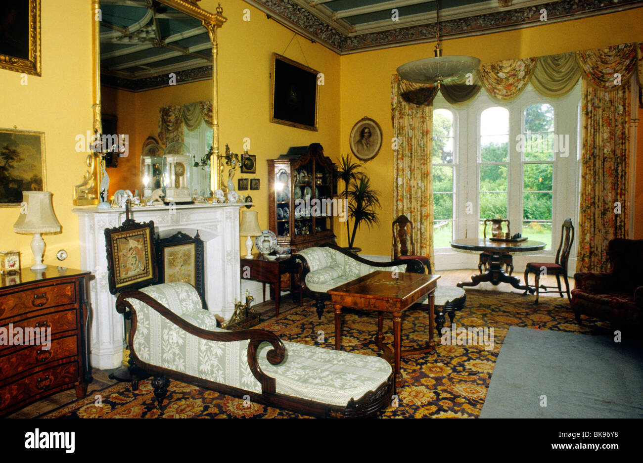 Carriglas Manor, County Longford, Ireland Eire Interior Irish Victorian  Country House Houses Stately Home Homes Interiors Part 11