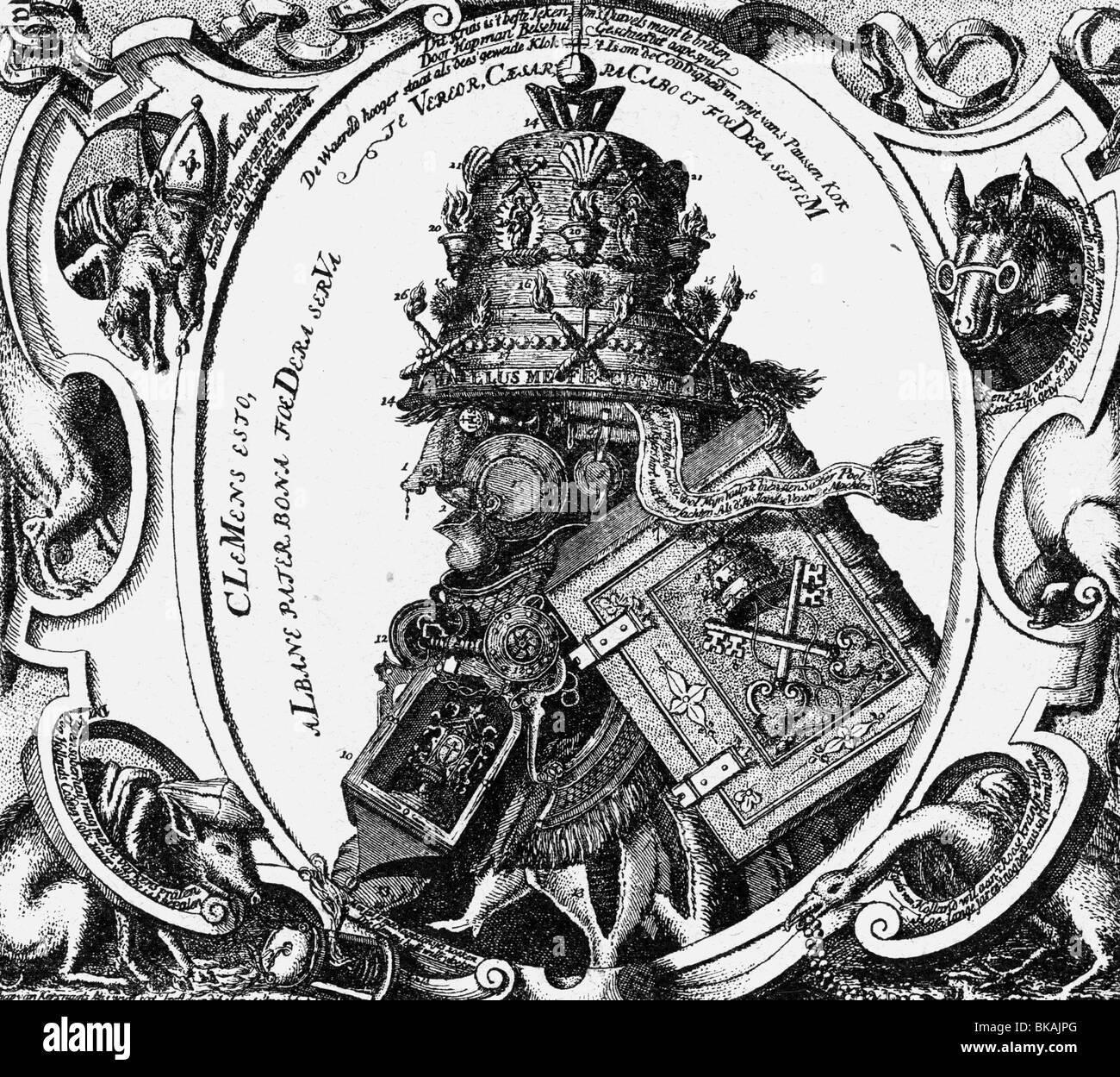 Events protestant reformation 1517 1555 propaganda dutch events protestant reformation 1517 1555 propaganda dutch caricature on medieval papacy 16th century historic historical buycottarizona