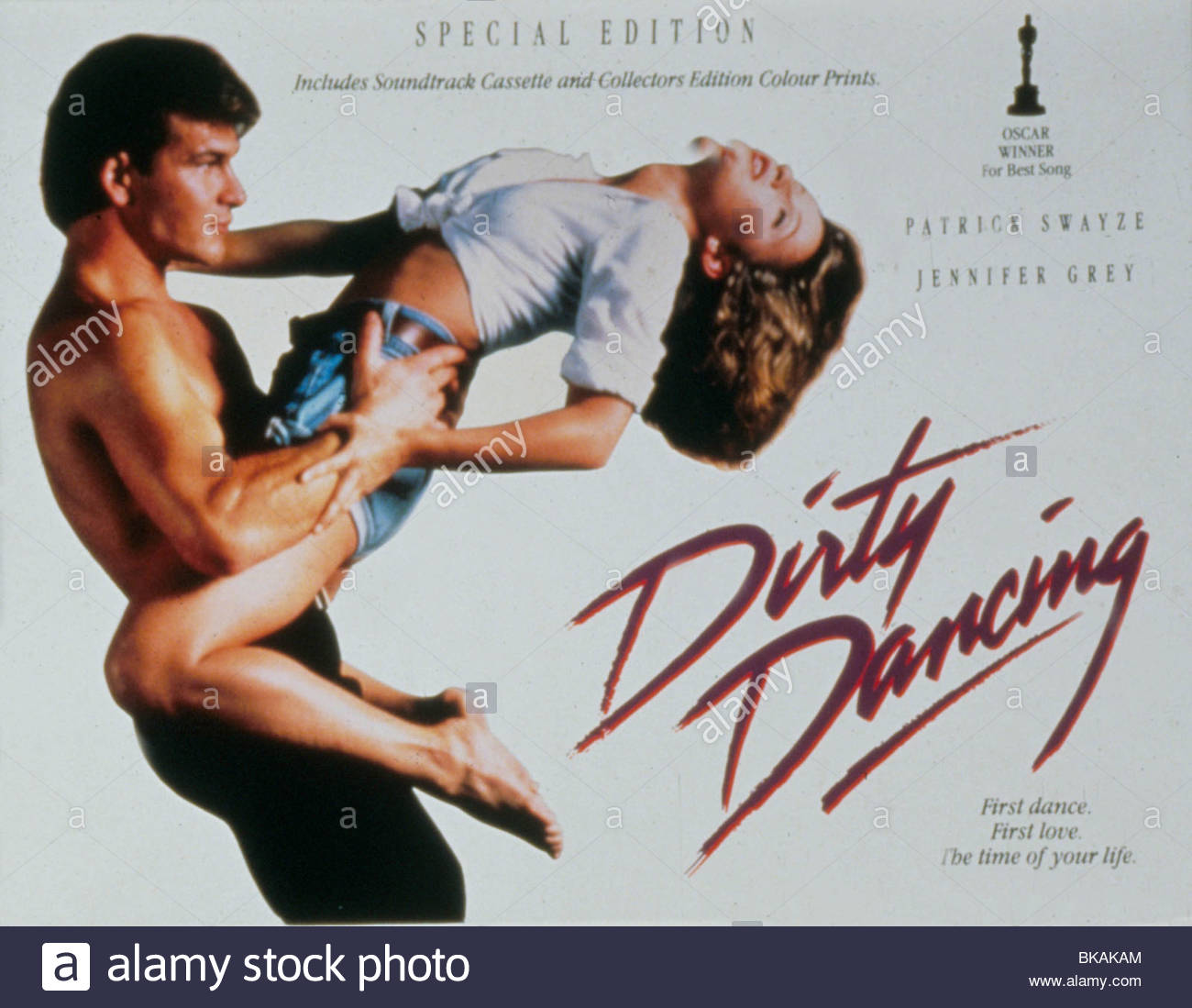 DIRTY DANCING (1987) PATRICK SWAYZE, JENNIFER GREY POSTER DRD 025 ...