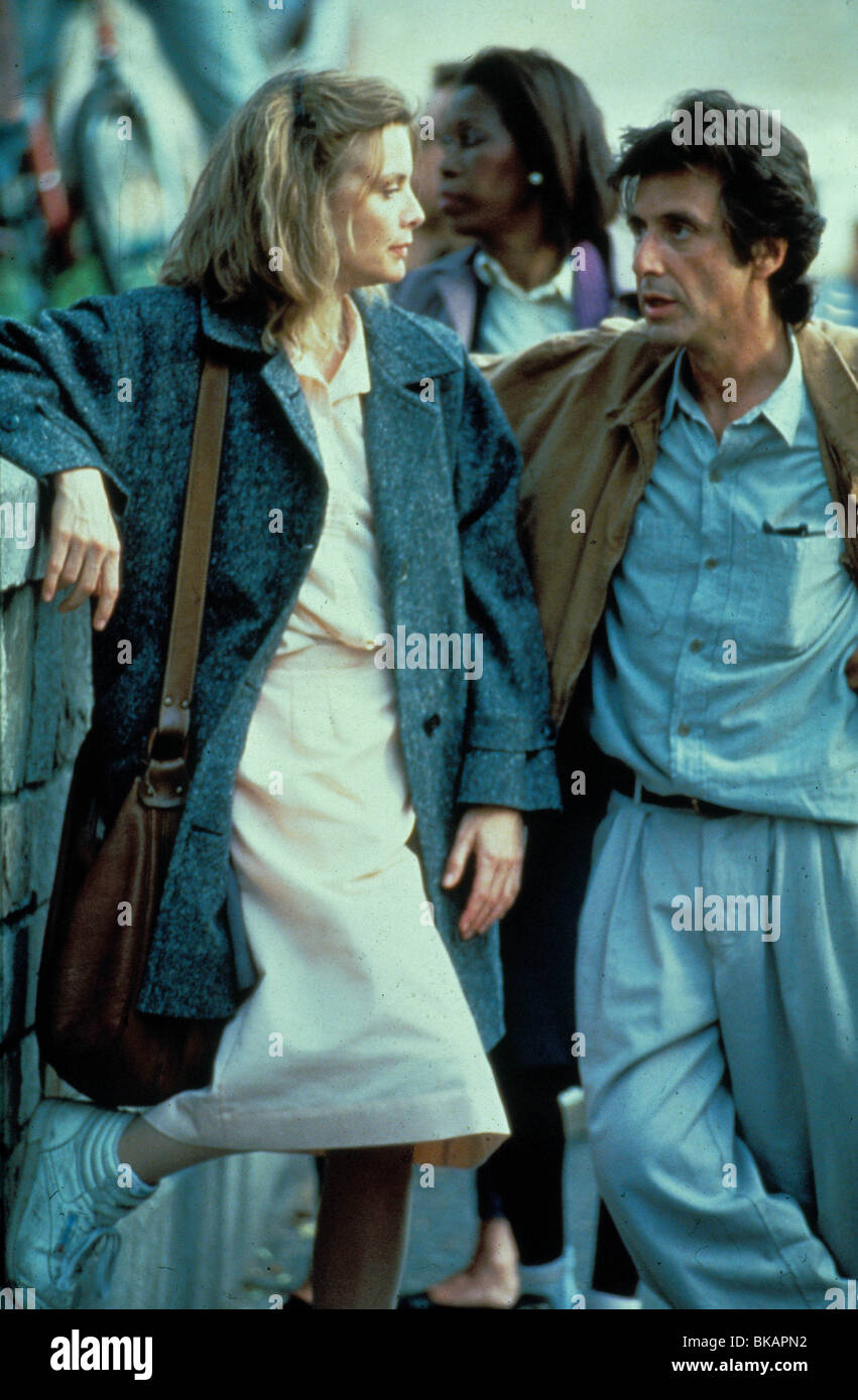 frankie and johnny A massively underrated comedy starring michelle pfeiffer and al pacino though i don't get why it's r rated never the less it's a great movie.