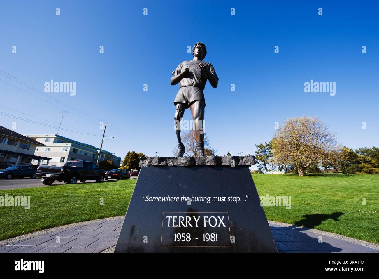 Terry Fox statue, Victoria, Vancouver Island, British ... | 1300 x 954 jpeg 164kB