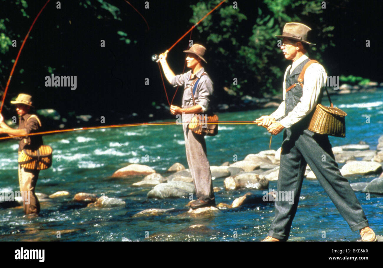 a river runs through it Redford does an honorable job emulating the author's unsentimental, laconically witty style a river runs through it is made with reverence and taste.