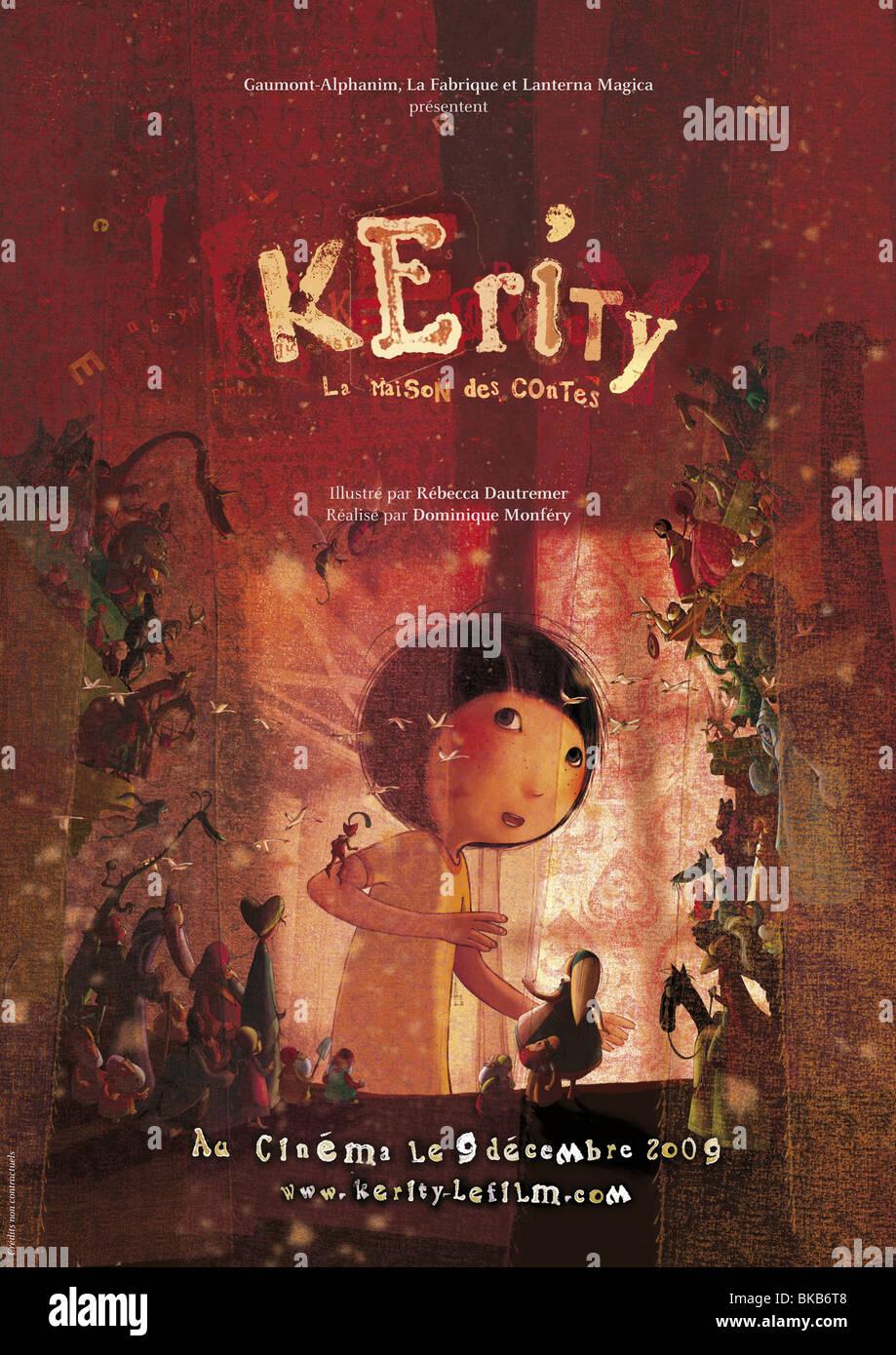 Kerity La Maison Des Contes Year  Director Dominique Monfery Animation Movie Poster Fr