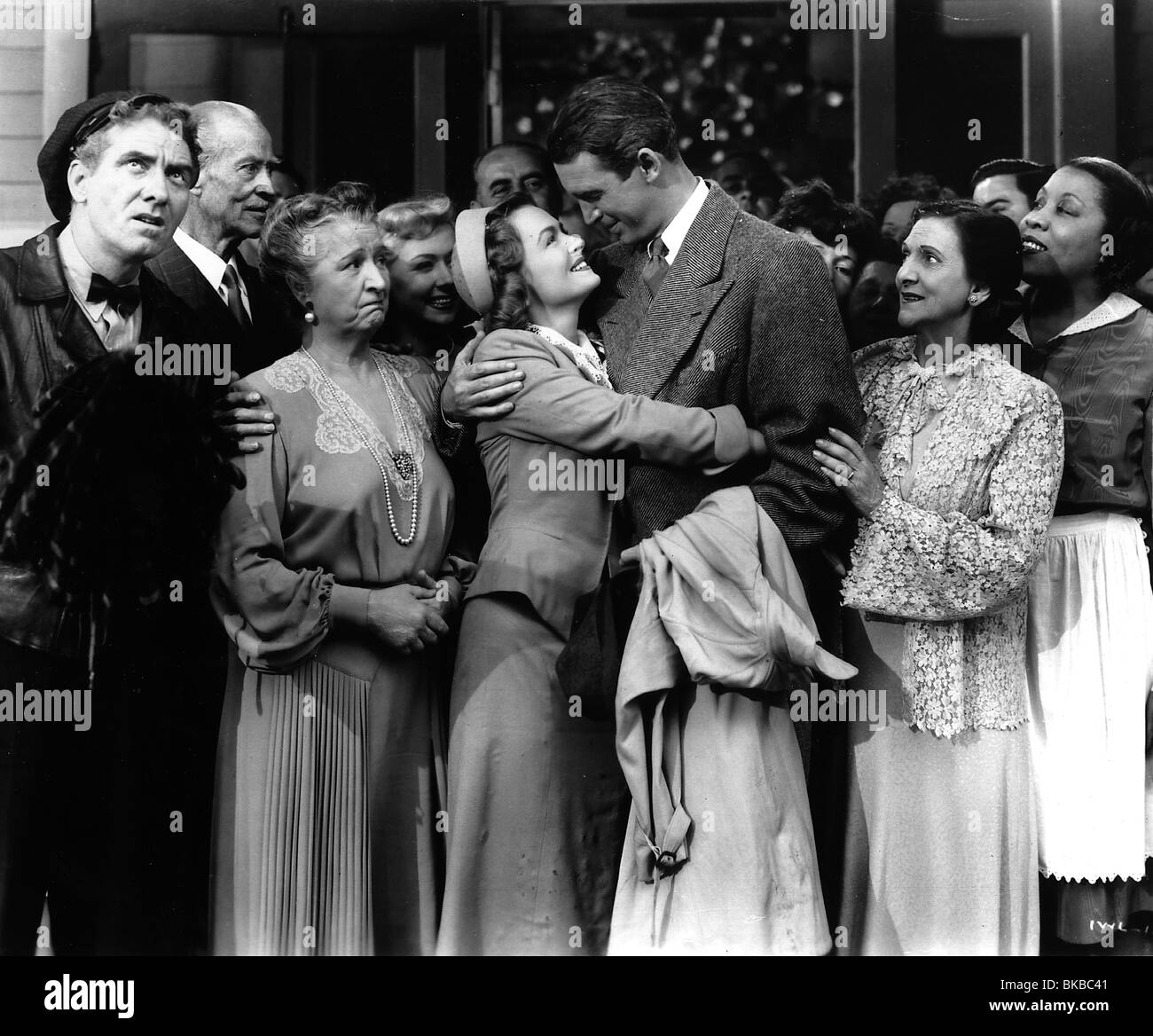 It 39 S A Wonderful Life 1946 Donna Reed James Stewart Iwl 036p Stock Photo Royalty Free Image