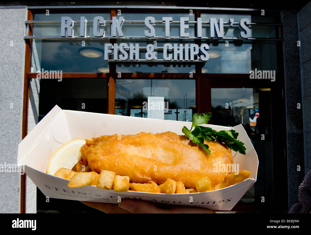 Rick stein 39 s fish and chips restaurant and take away for Rick s fish and pet