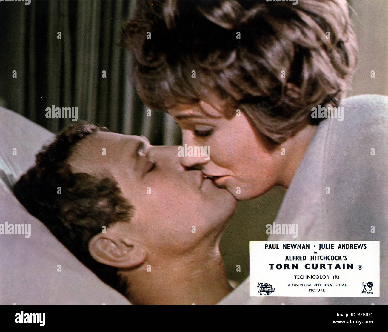 Torn curtain julie andrews - Stock Photo Torn Curtain 1966 Paul Newman Julie Andrews Trct 001foh