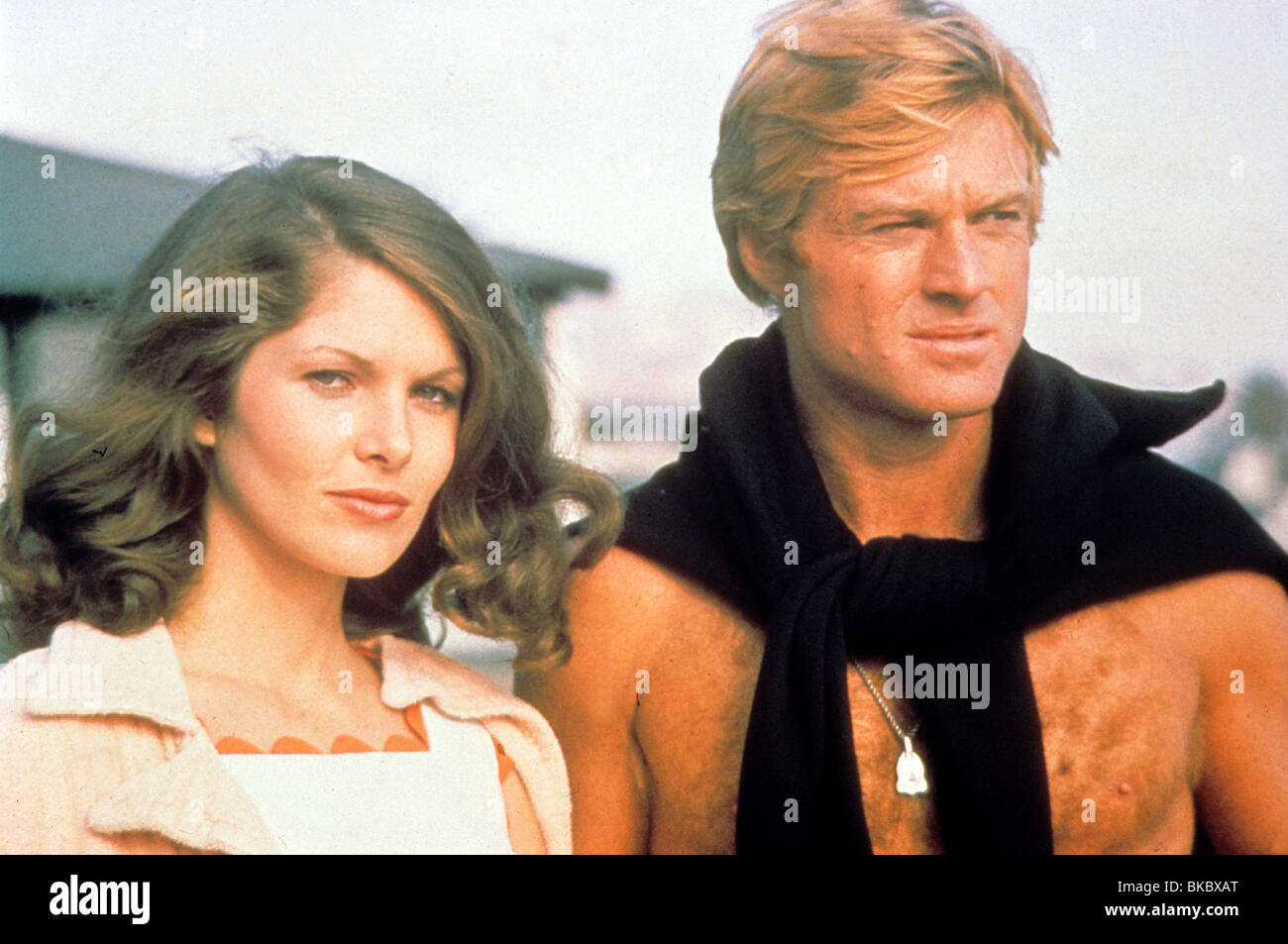 Lois Chiles and robert redford