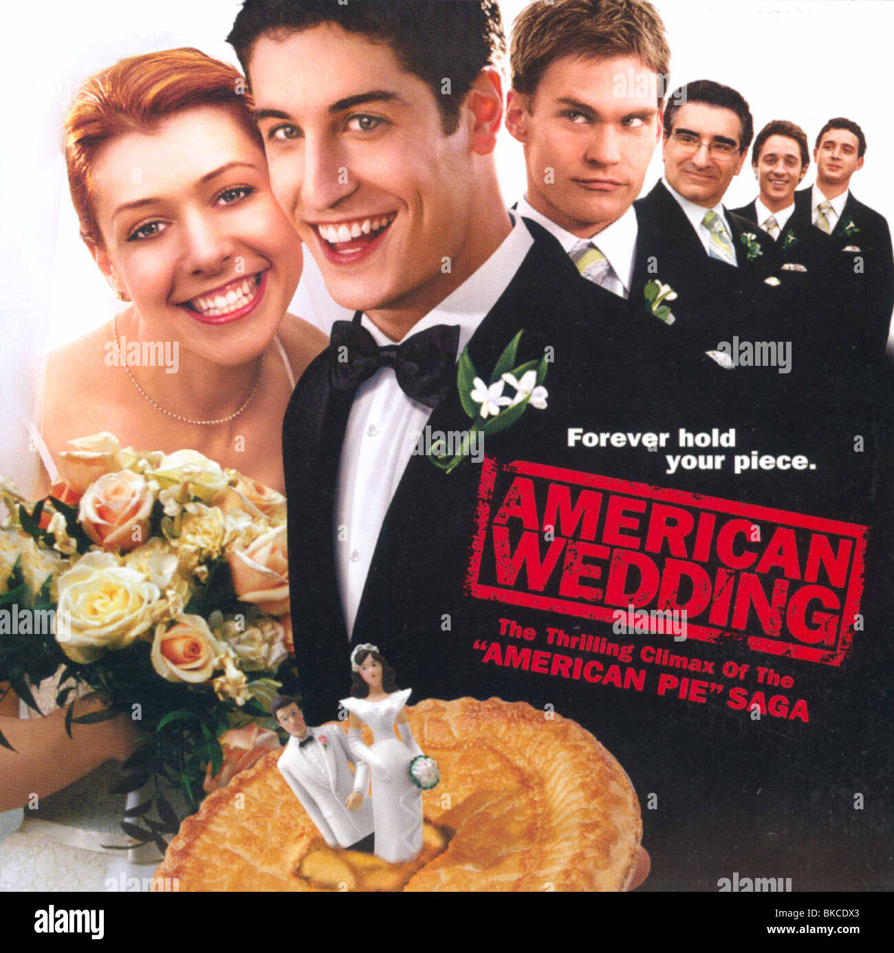 AMERICAN WEDDING 2003 PIE 3 PIECE OF ALT POSTER AMNW 001 POST