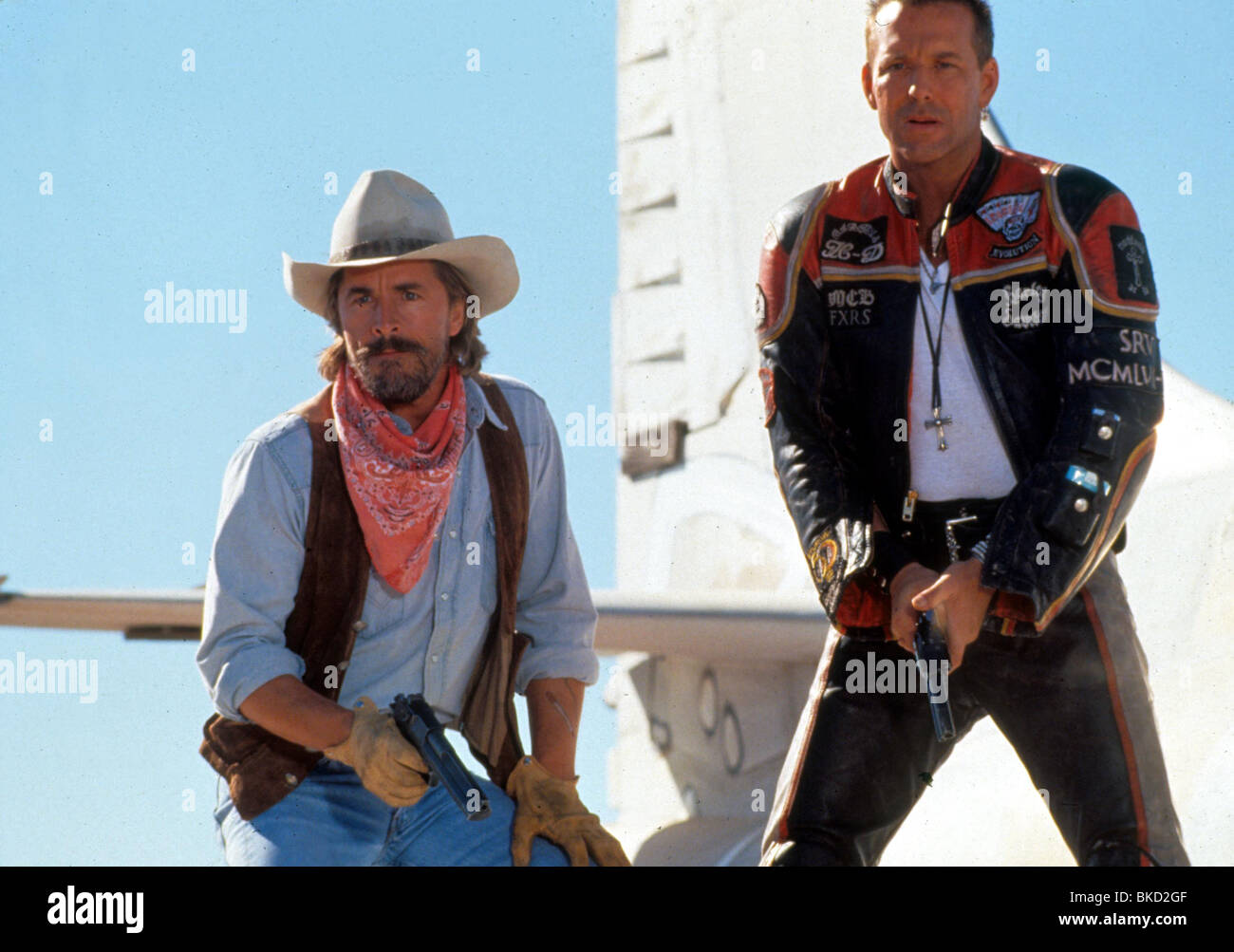 HARLEY DAVIDSON AND THE MARLBORO MAN 1991 DON JOHNSON MICKEY