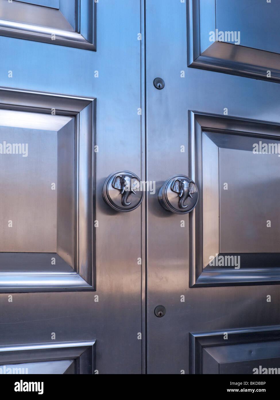 cutlers u0027 hall sheffield main doors stock photo royalty free