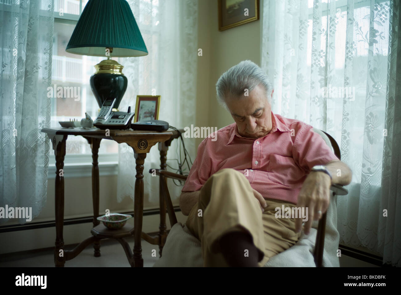 Old Man Sleeping In Living Room Chair Part 67