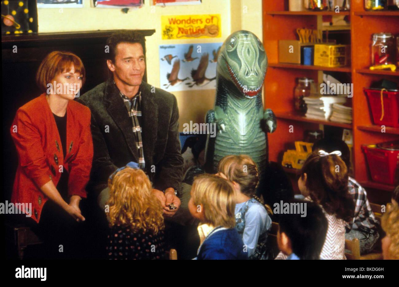 kindergarten cop 1990 arnold schwarzenegger pamela reed