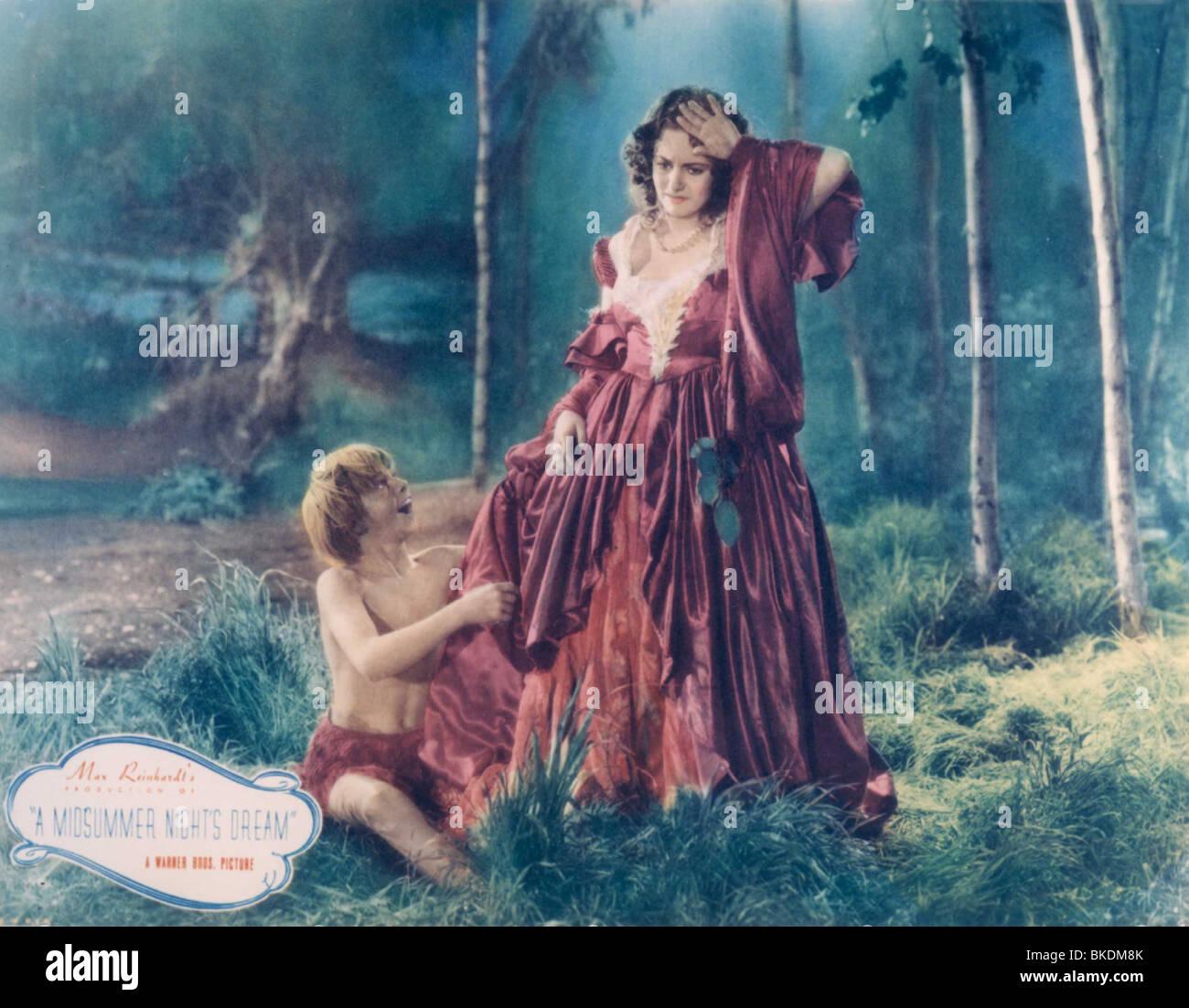 A MIDSUMMER NIGHT'S DREAM (1935) MICKEY ROONEY, OLIVIA DE ...
