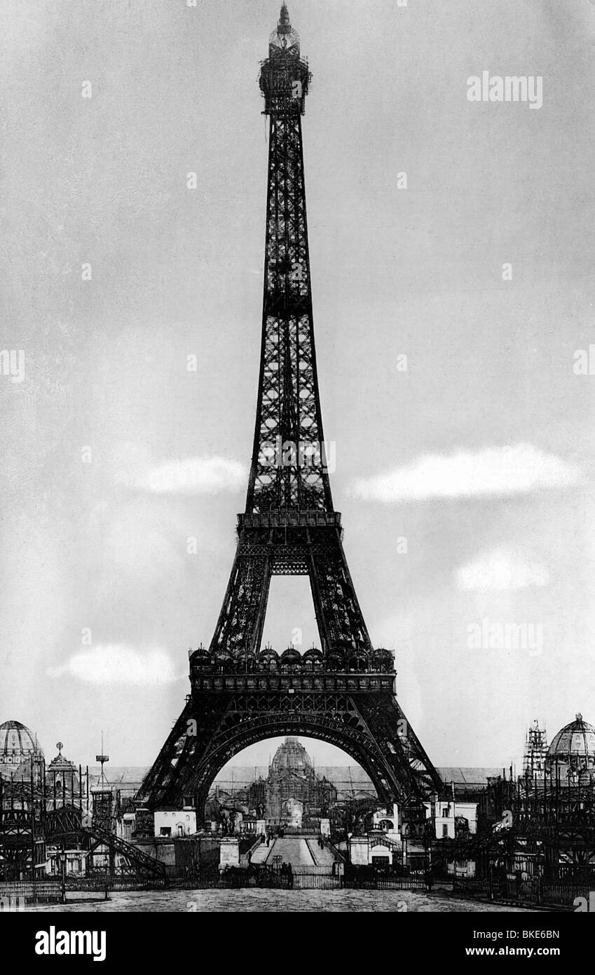 Architect Company geography / travel, france, paris, eiffel tower, built 1887 - 1889