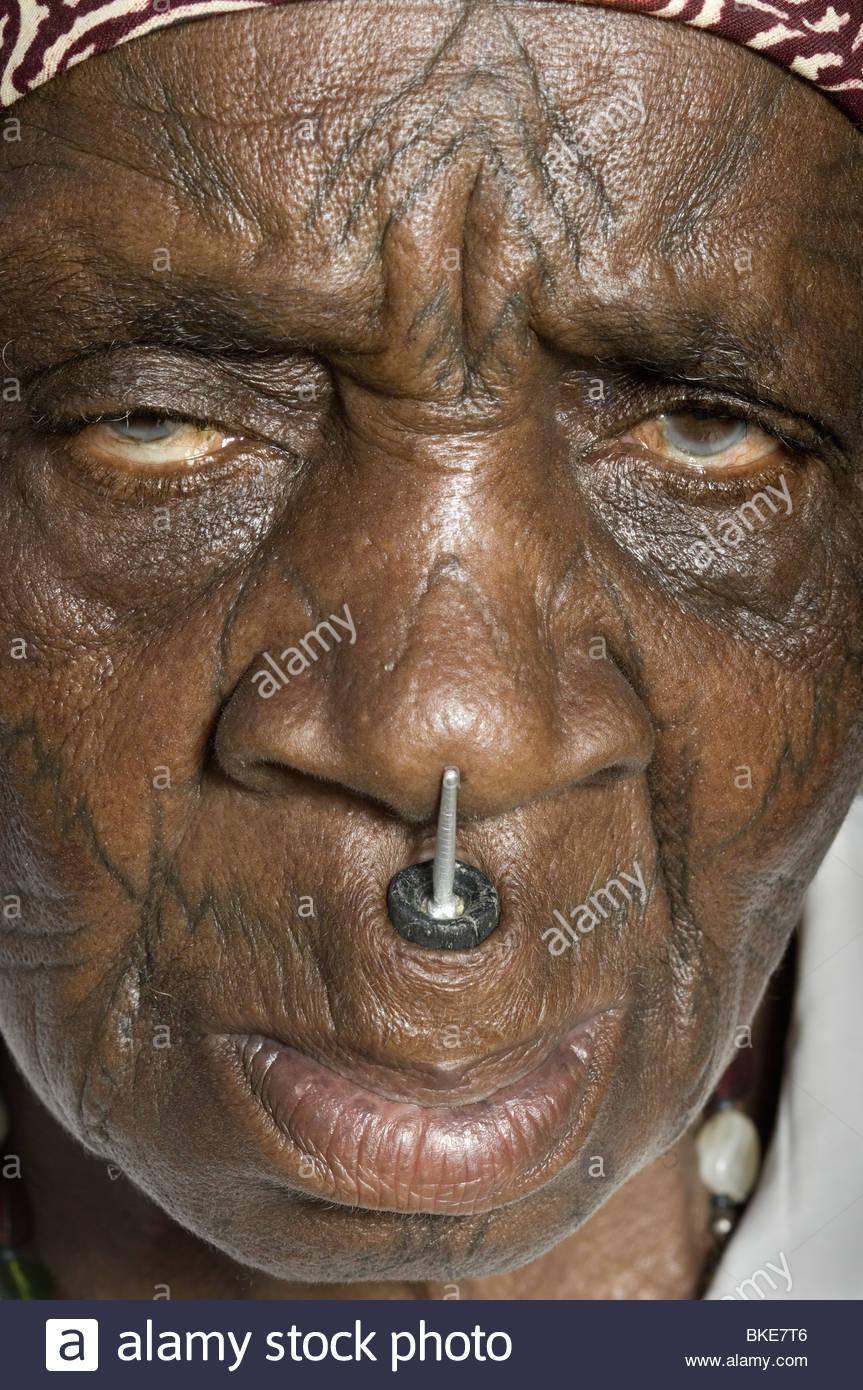 facial african
