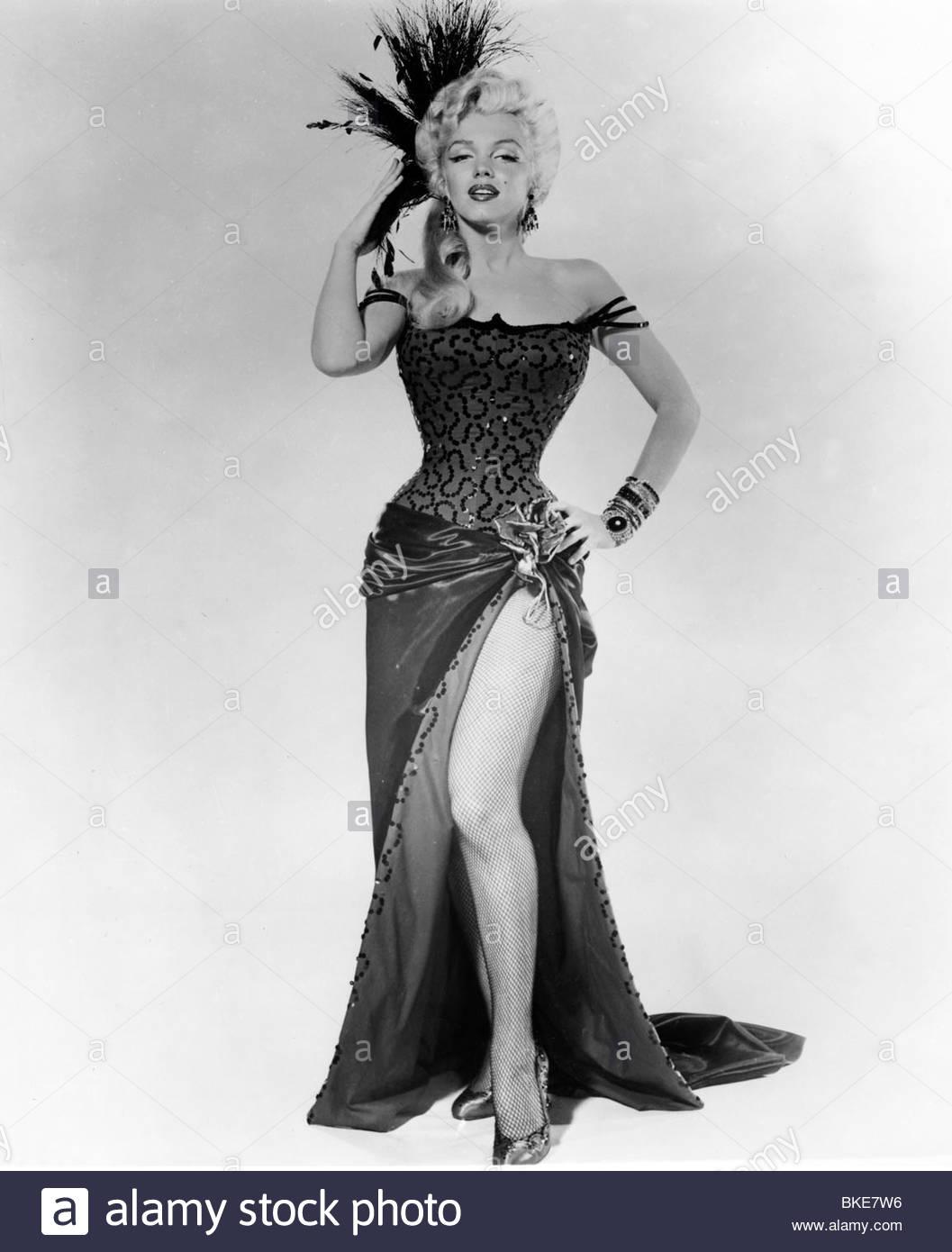 Marilyn monroe ornaments - Stock Photo Movie River Of No Return Usa 1954 Director Otto Preminger Pr Photo With Marilyn Monroe Cinema Adventure Western Full