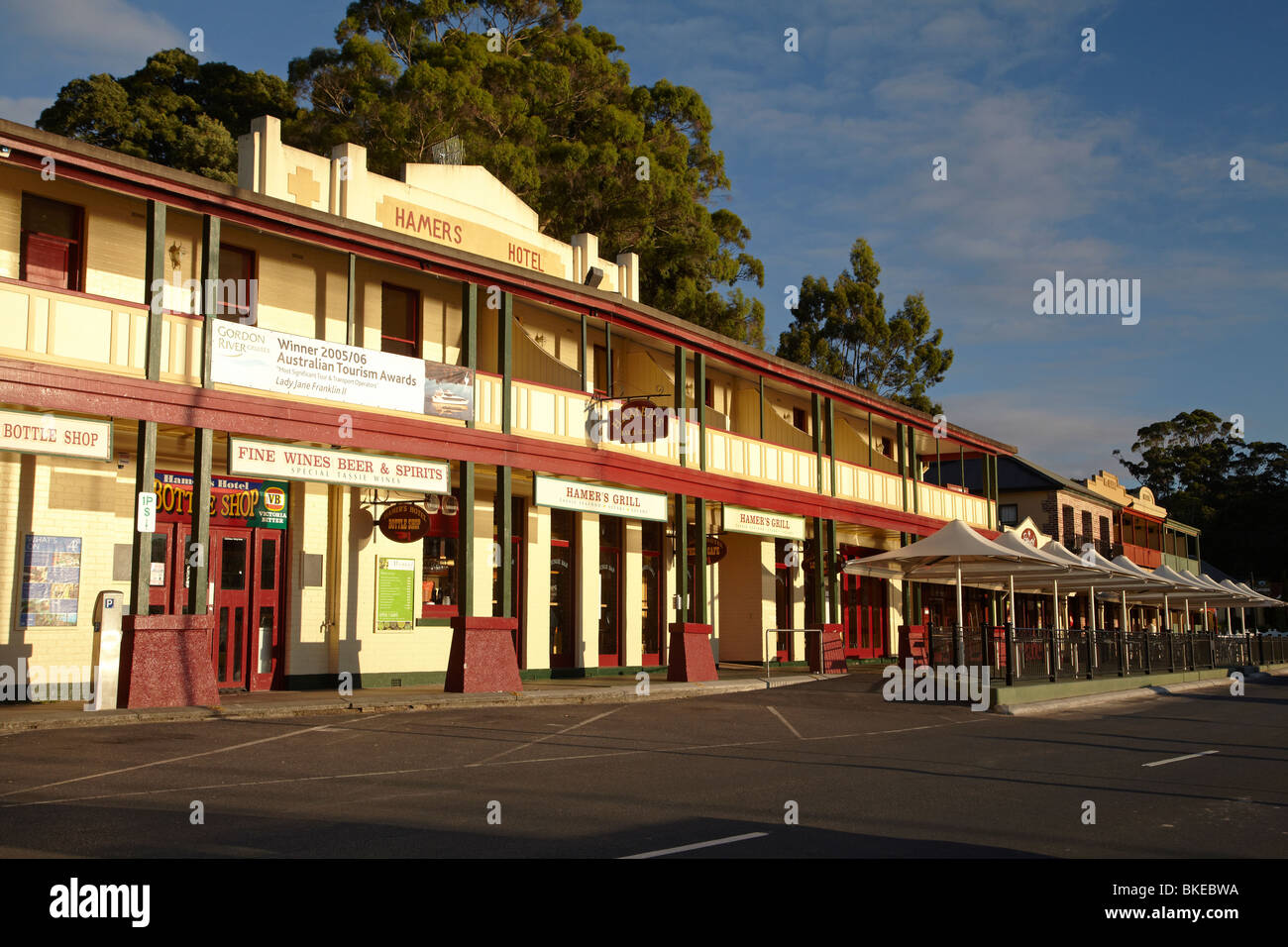 Hamers Hotel  Esplanade  Strahan  Western Tasmania