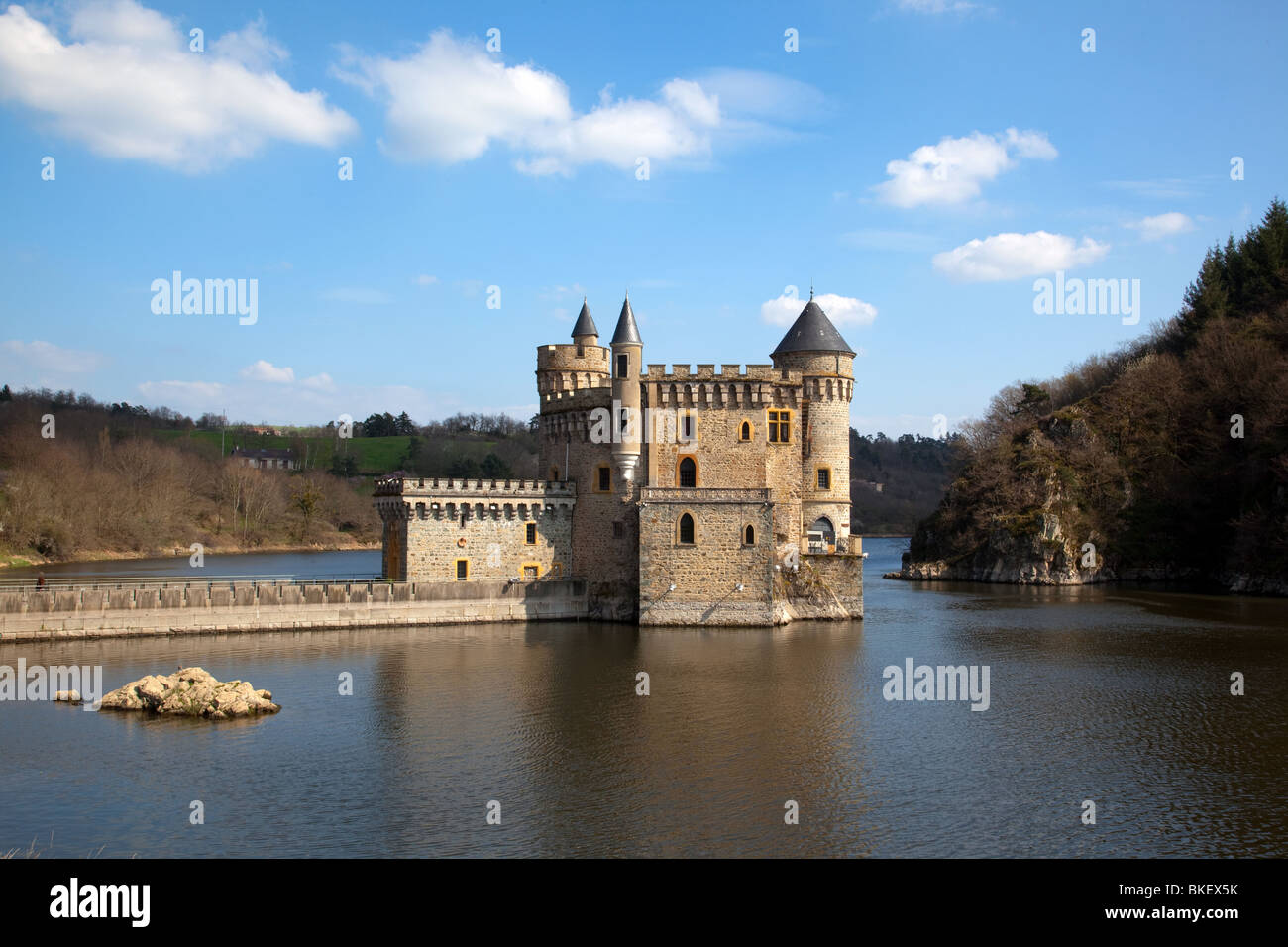 Chateau de la roche at saint priest la roche near roanne for Stock cuisine saint priest
