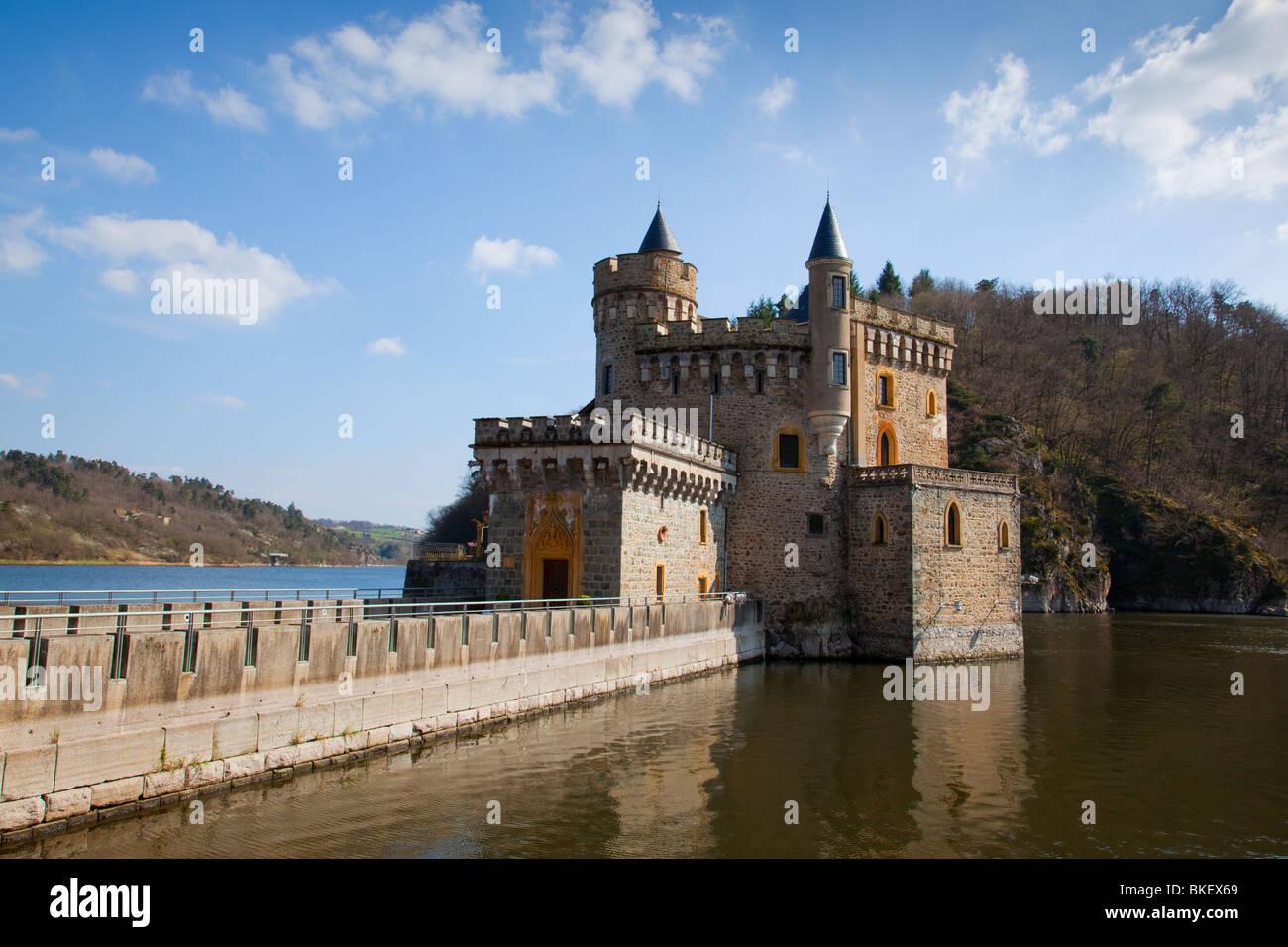 Chateau de la roche at saint priest la roche near roanne france stock photo 29216721 alamy - Stock cuisine saint priest ...