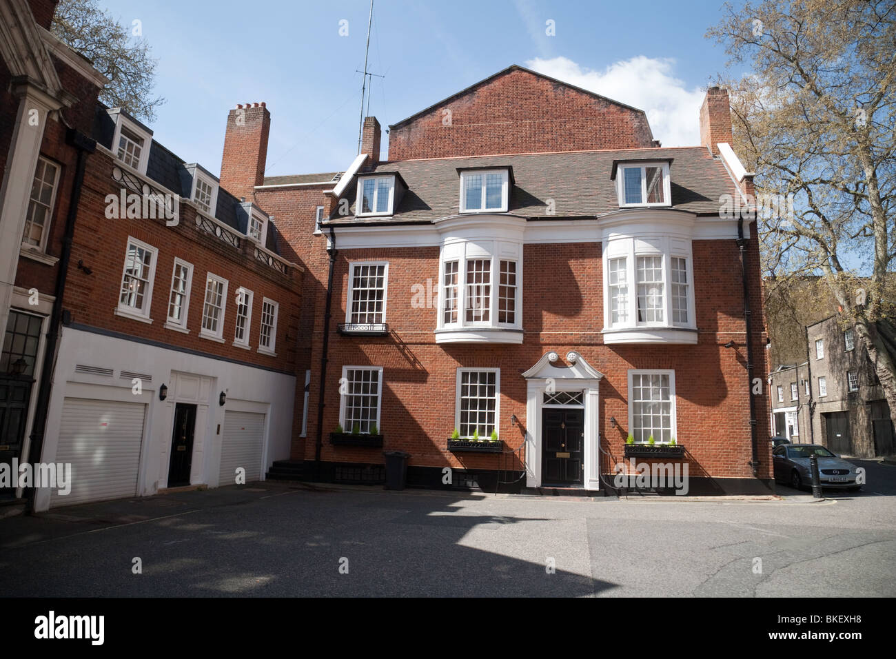 London mews house, just off Grosvenor Square, London W1, UK