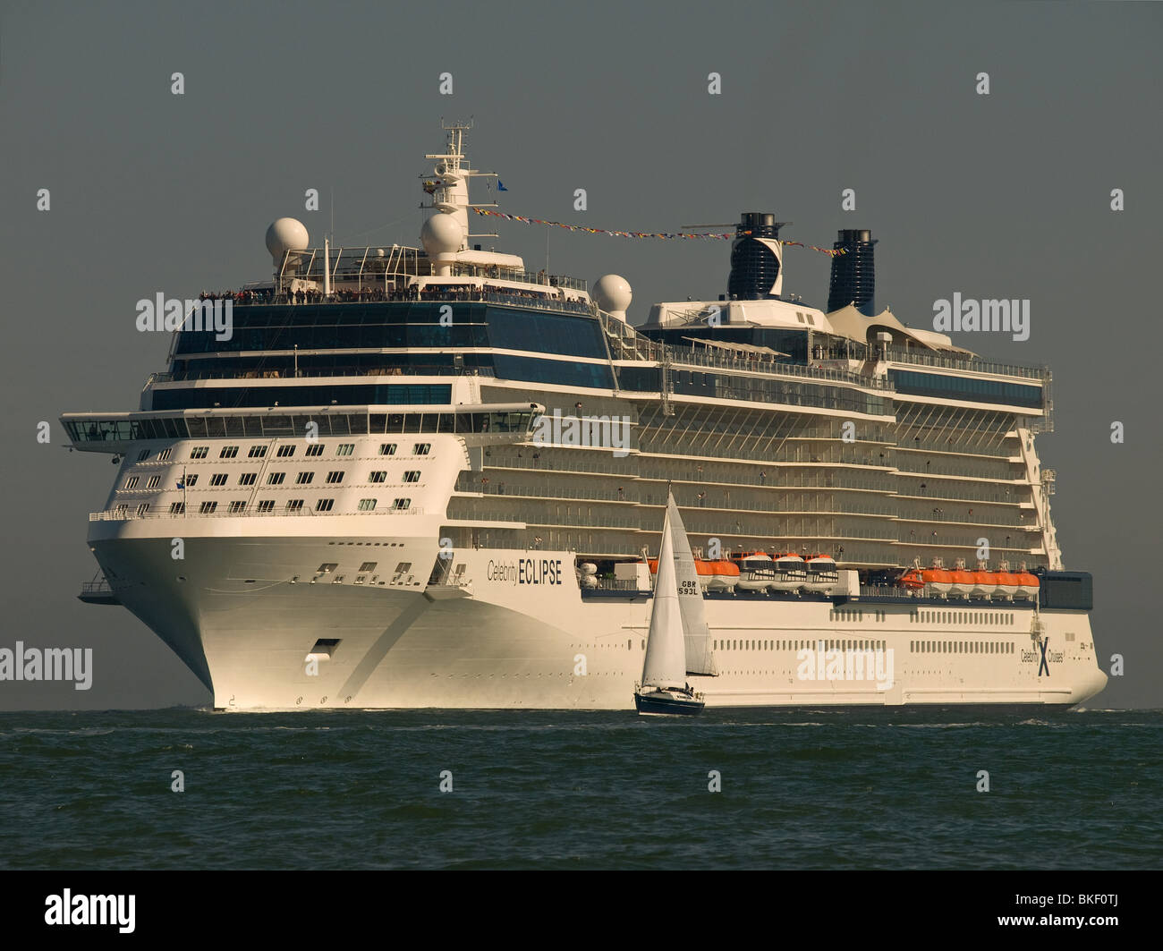 Cruise Ship Celebrity Eclipse Arriving At Southampton UK From - Stranded cruise ship