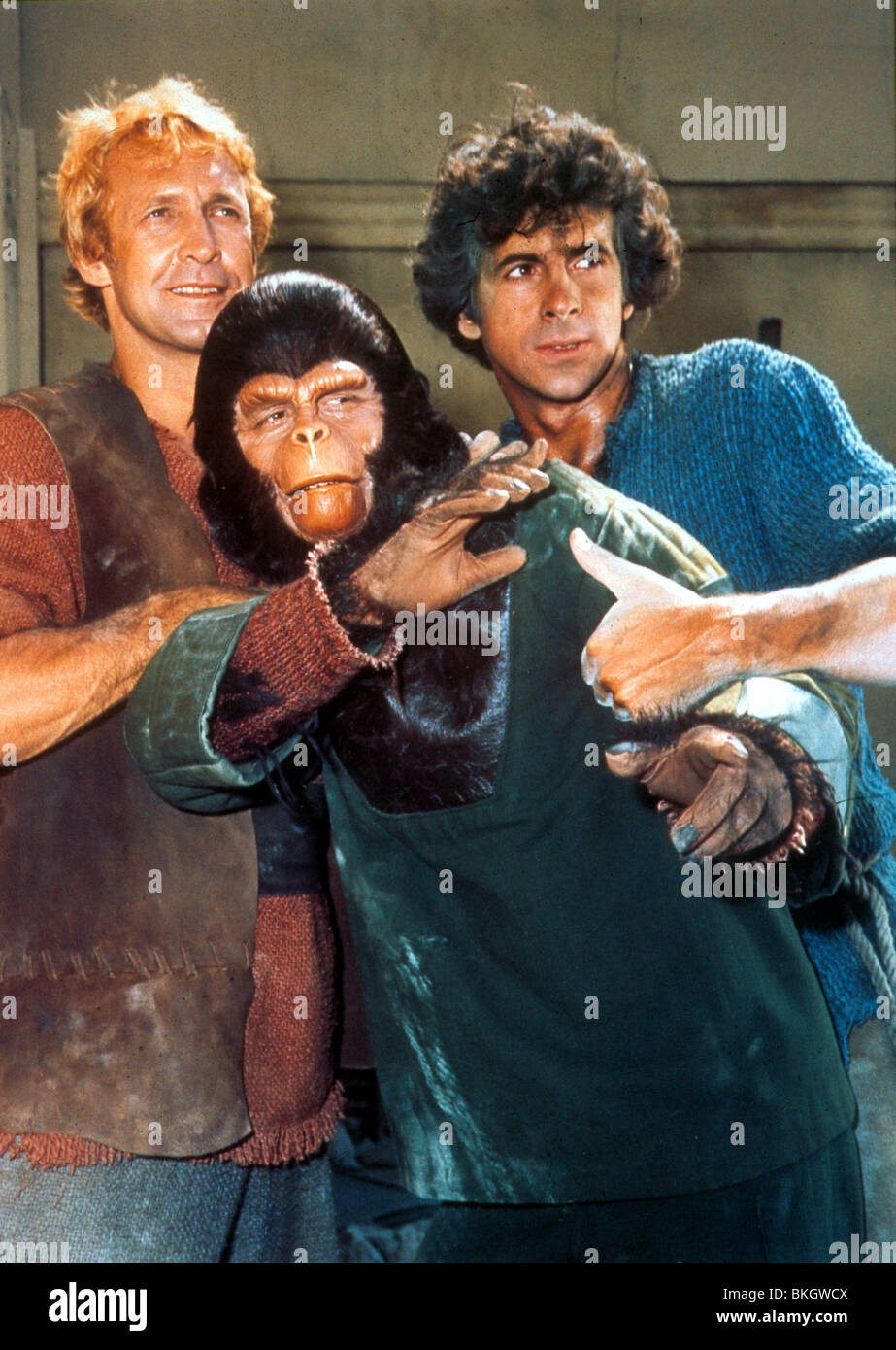 PLANET OF THE APES TV JAMES NAUGHTON RODDY MCDOWALL RON HARPER