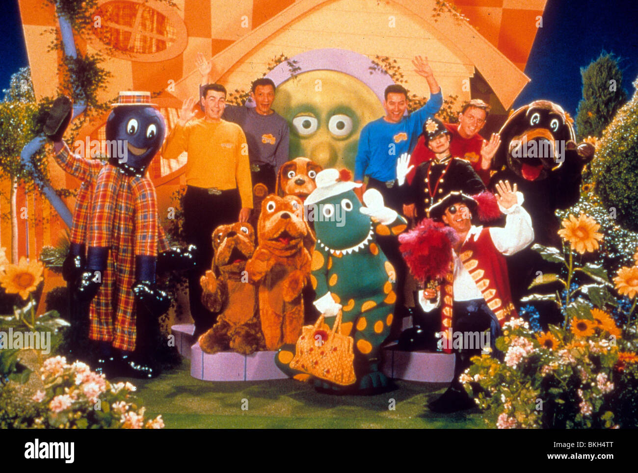 The Wiggles Movie 1997 Stock Photo Royalty Free Image