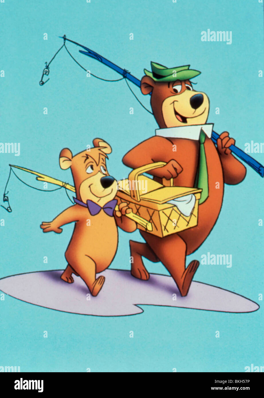 yogi bear tv ani animated boo boo character yogi bear stock