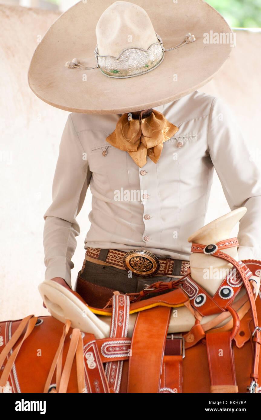 Guadalajara Mexico Charro Mexican Cowboy Ready To