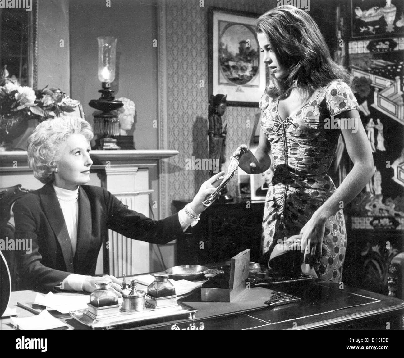 walk on the wild side 1962 barbara stanwyck jane fonda wsid 001 01 stock photo royalty free. Black Bedroom Furniture Sets. Home Design Ideas