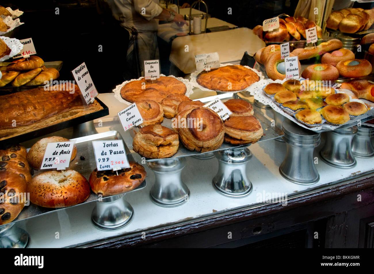 Food Market In Madrid Spain