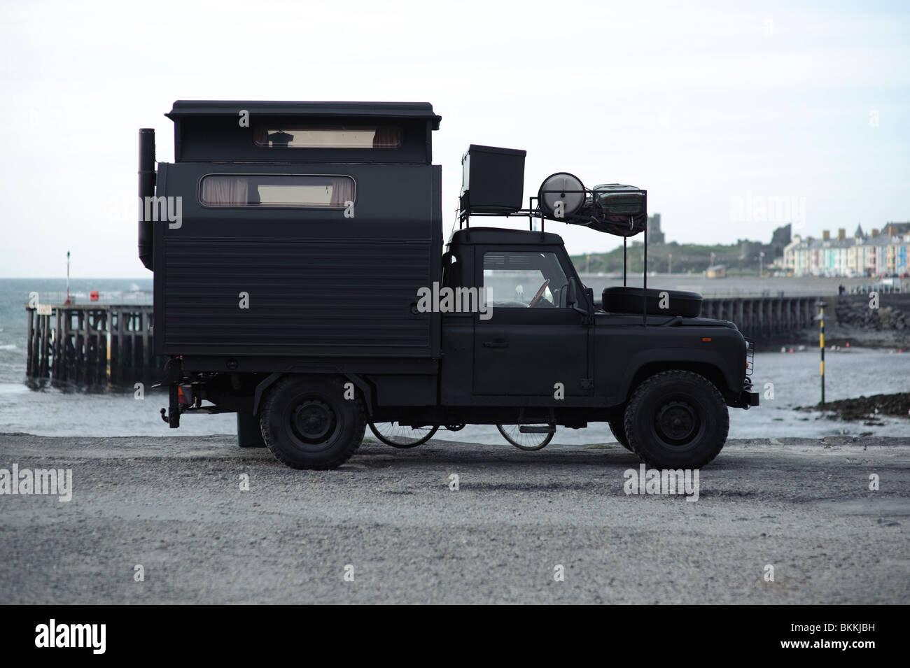 A Landrover Converted Into Mobile Home Camper Van UK