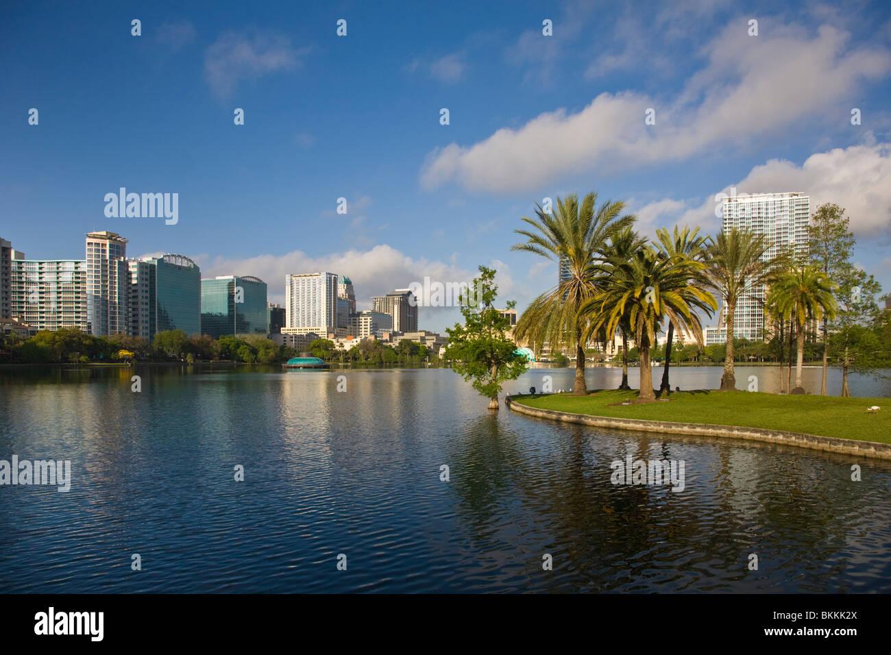 Modern Architecture Orlando wonderful modern architecture orlando lake eola with skyline of