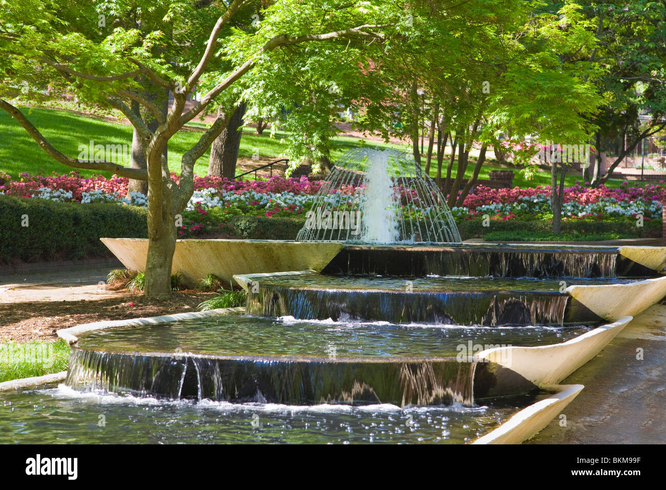 glencairn garden in rock hill south carolina stock photo. Black Bedroom Furniture Sets. Home Design Ideas