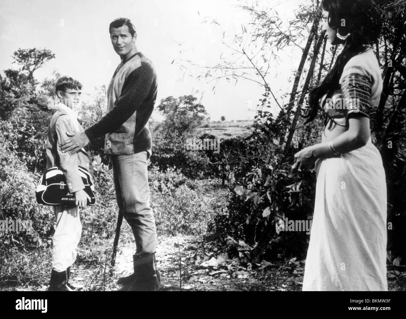 Maya 1966 jay north clint walker maya 004p stock image