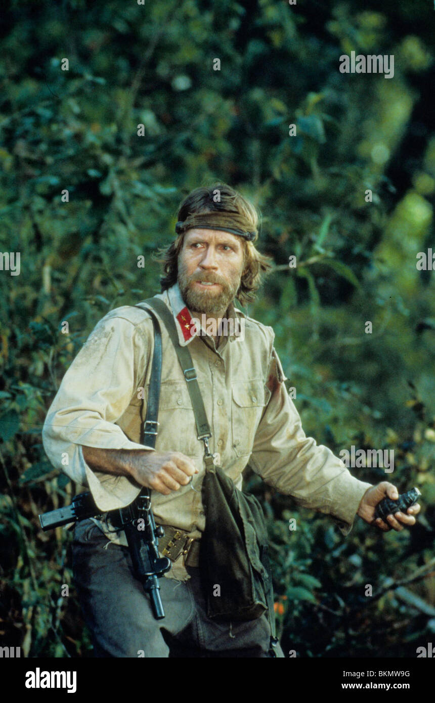 missing in action 1984 chuck norris mian 003 stock photo