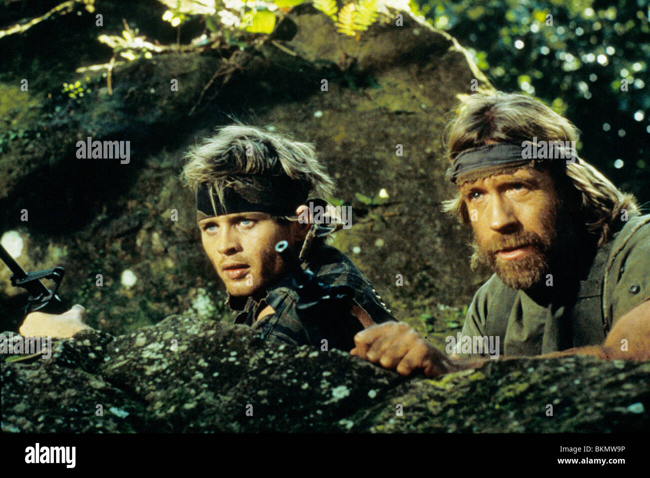 missing in action 1984 chuck norris mian 009 stock photo