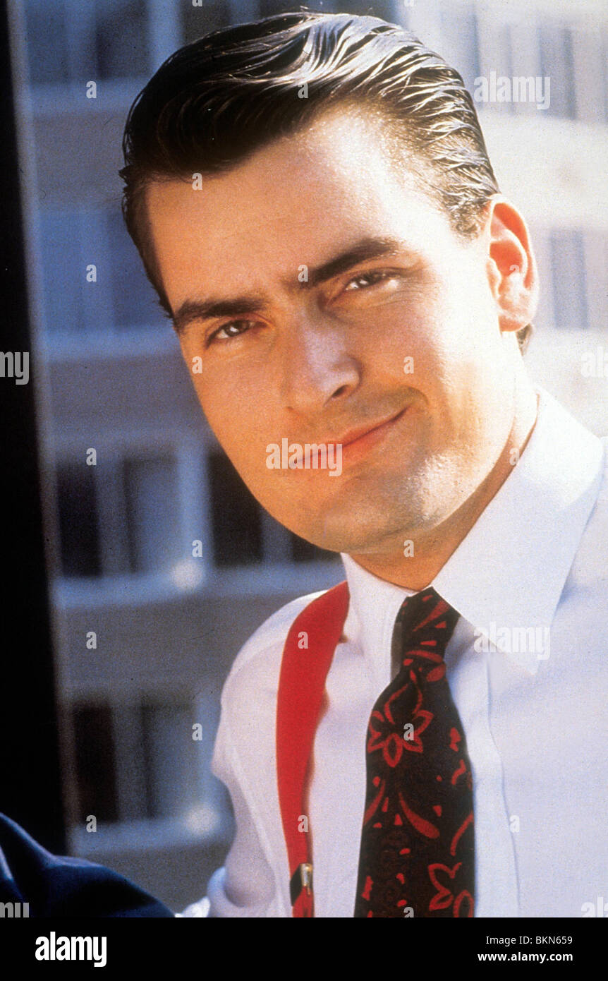 wall street 1987 charlie sheen stock photo royalty free