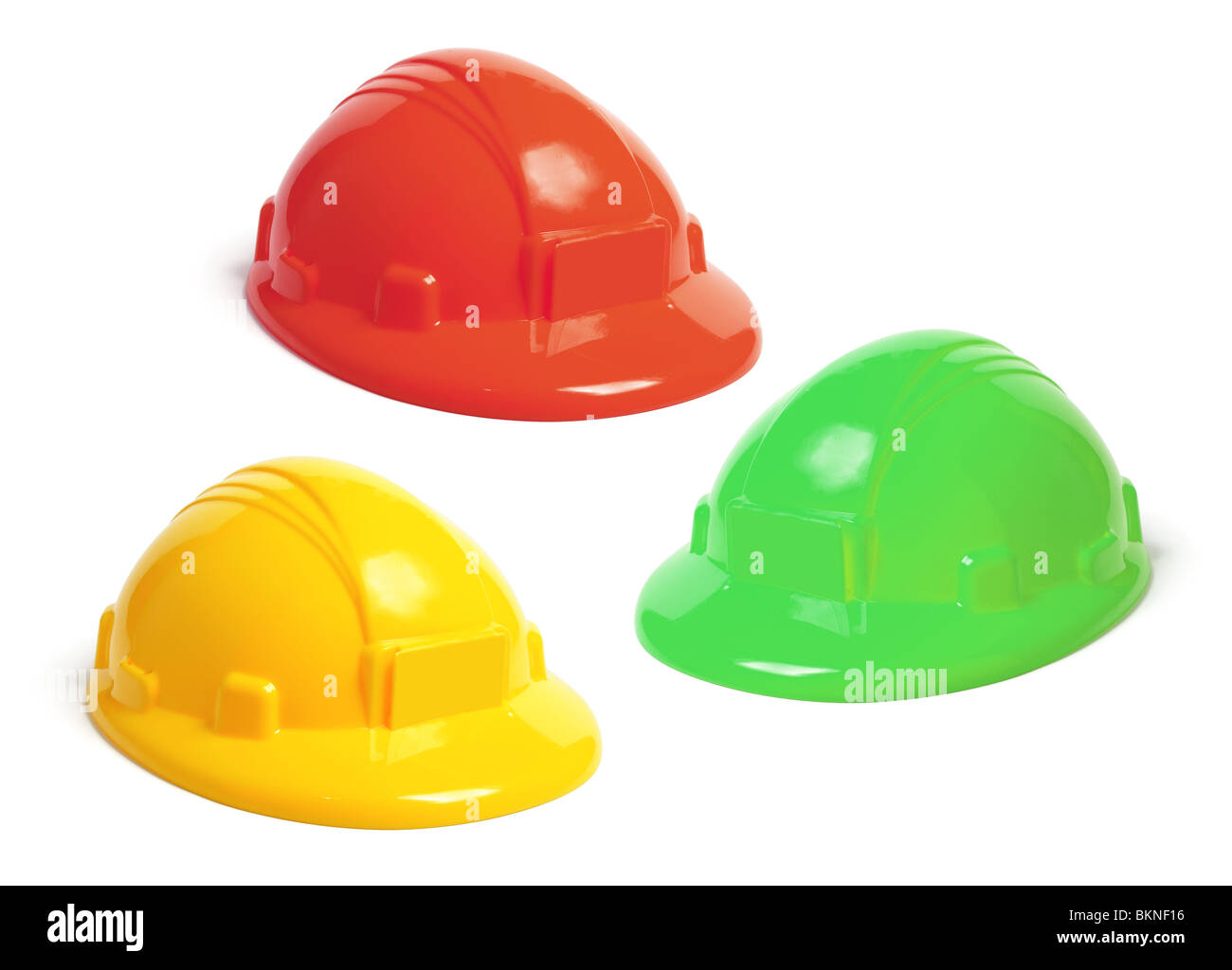 Toys For Caps : Toy hard hats stock photo royalty free image