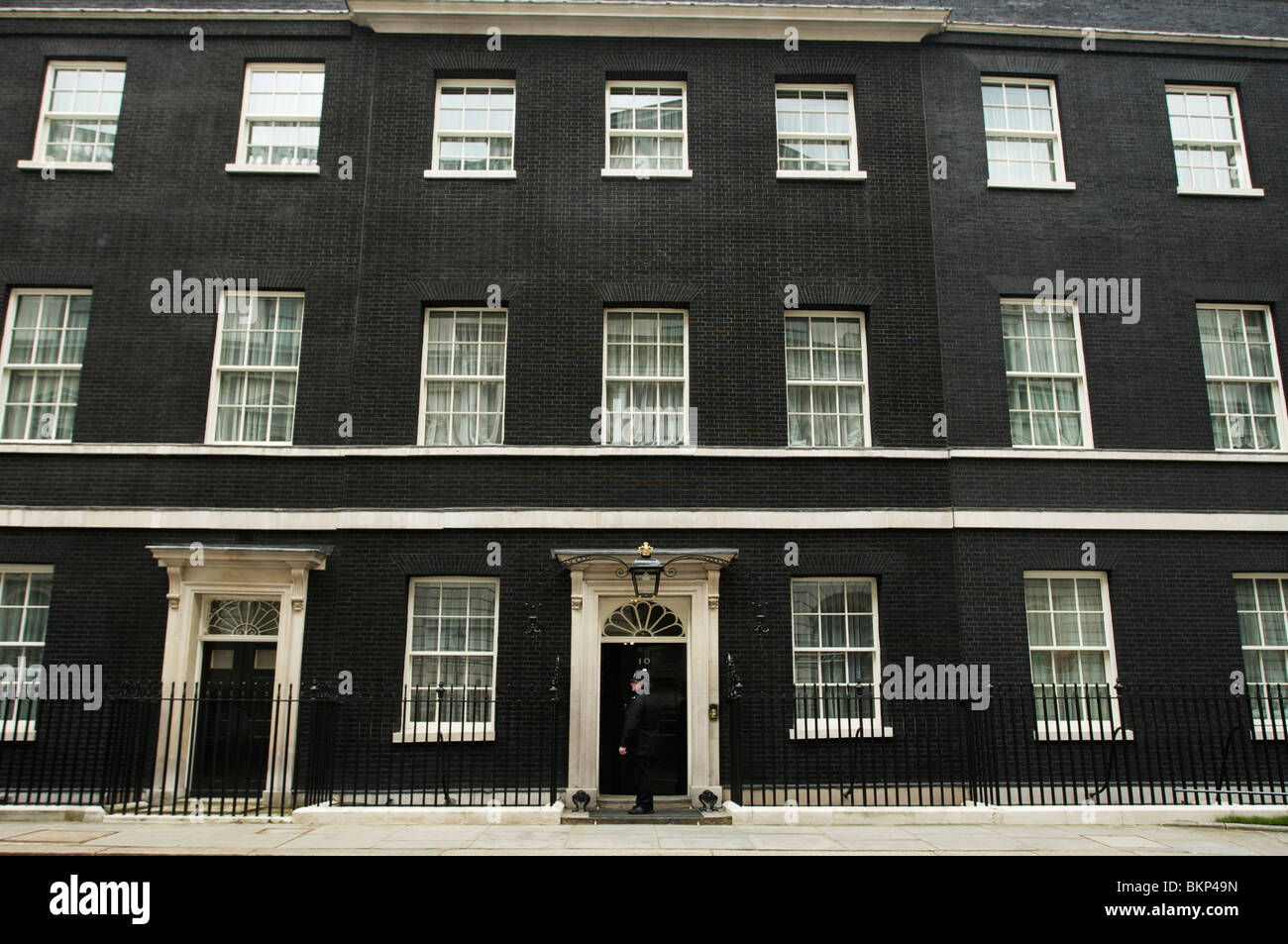 10 downing street london prime minister residence stock photo royalty free image 29375185. Black Bedroom Furniture Sets. Home Design Ideas