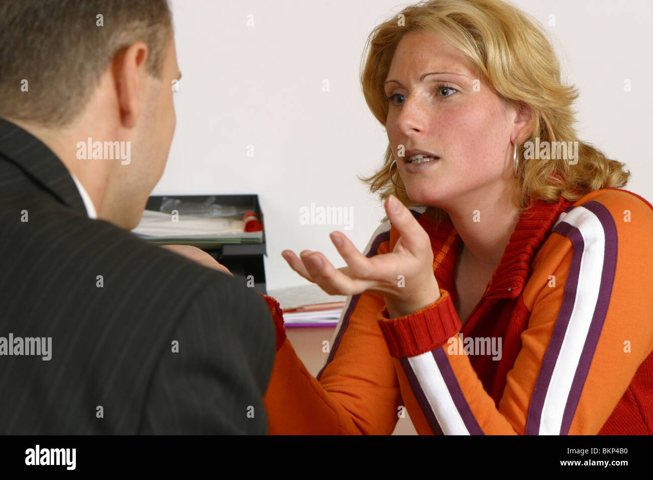 job interview going bad w stock photo royalty image job interview going bad w