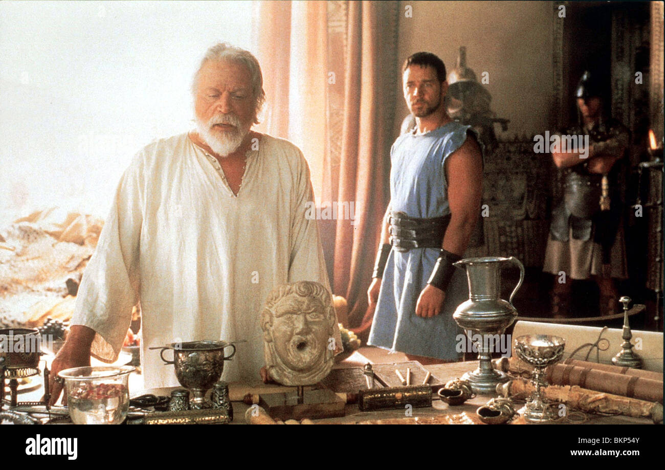 gladiator 2000 oliver reed russell crowe glat 005foh