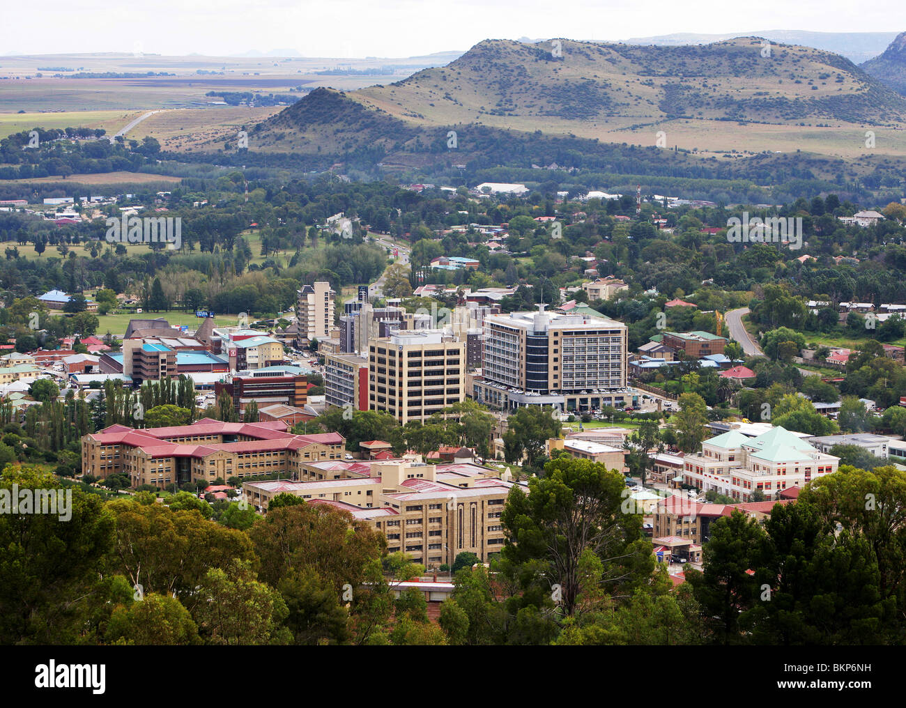 City of maseru capital of lesotho stock photo royalty free image city of maseru capital of lesotho sciox Images