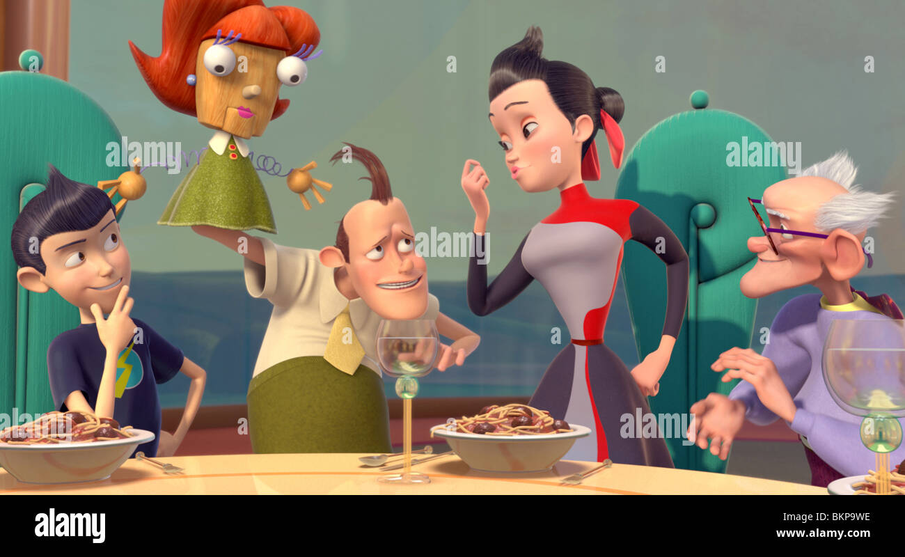 disney meet the robinsons franny and wilbur