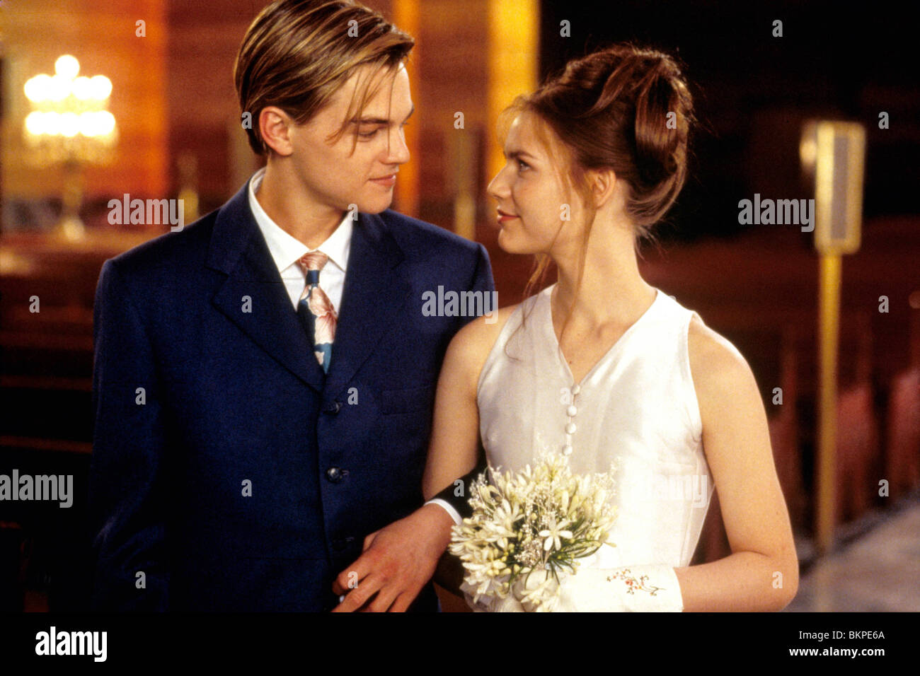 Leonardo Dicaprio And Claire Danes Romeo And Juliet ROMEO AND JULIET LEONA...