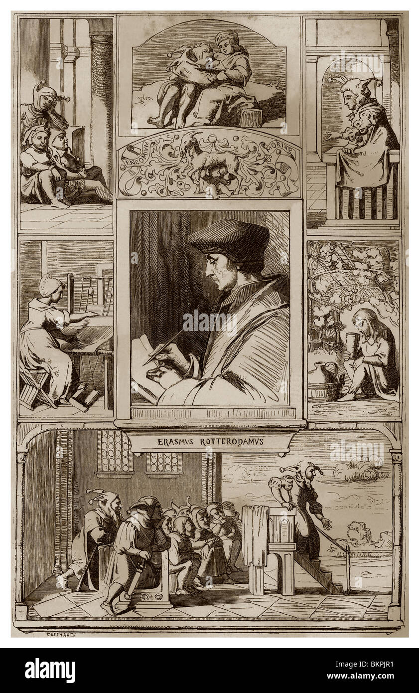 an essay on erasmus the praise of folly Immediately download the the praise of folly summary, chapter-by-chapter  analysis, book notes, essays, quotes, character descriptions, lesson plans, and.