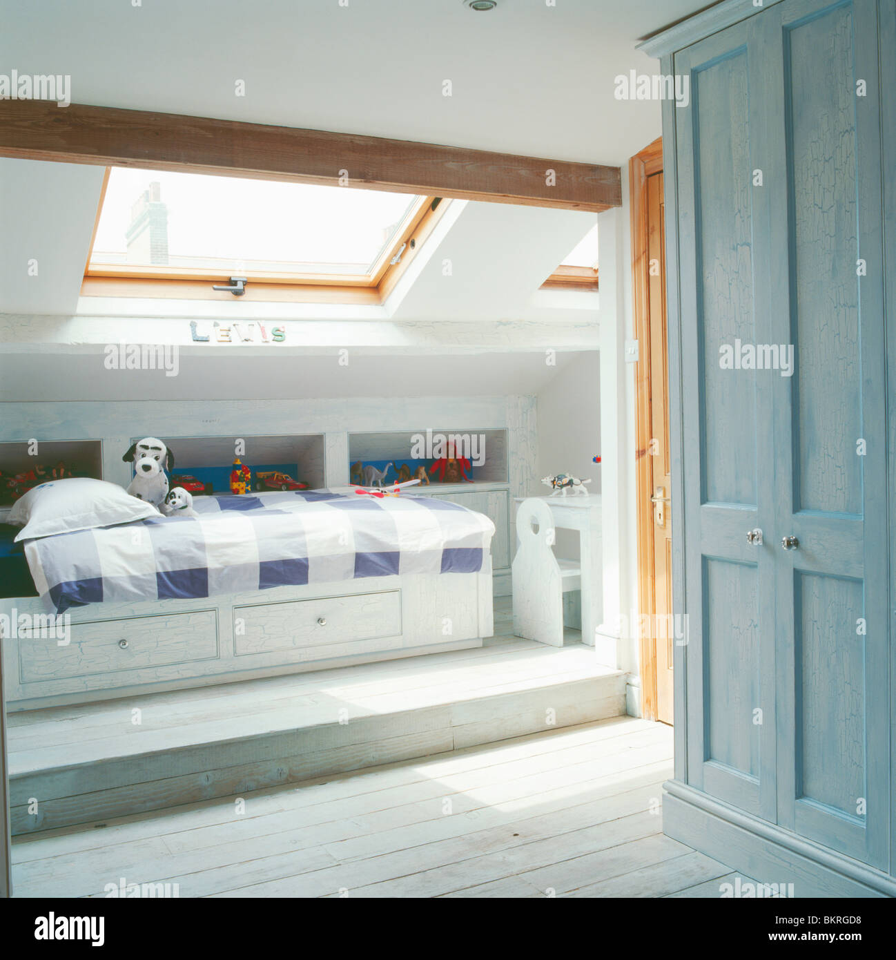 Loft Conversion Bedroom Childs Modern Loft Conversion Bedroom With Under Bed Storage And