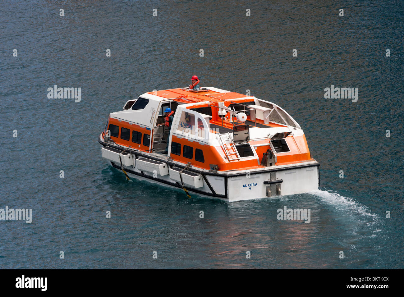 Life Boats Tenders High Speed Craft From Cruise Ship PO Aurora - Cruise ship speed