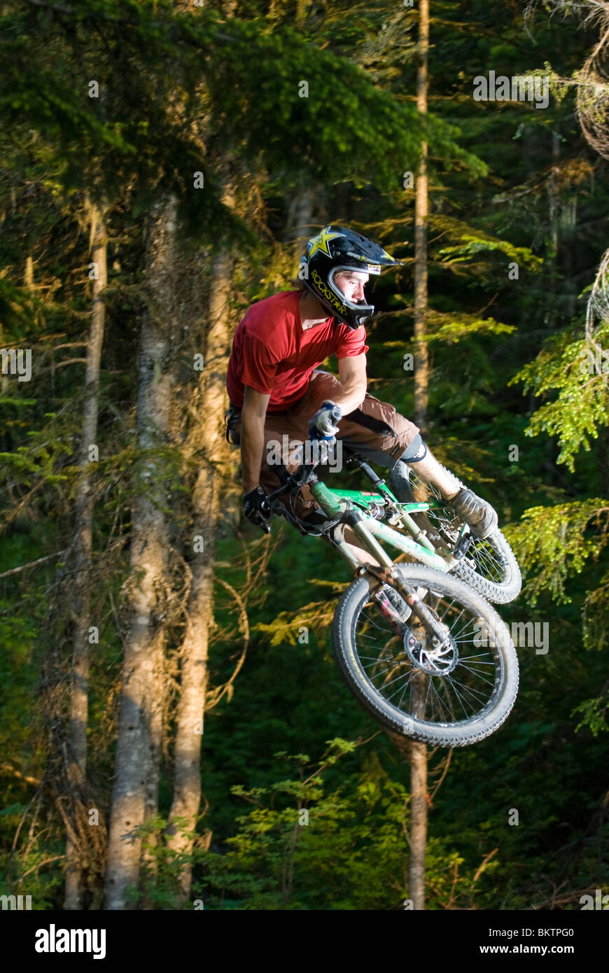 Downhill Mountain Biking in the World Famous Whistler Bike ...